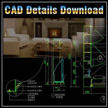Interior Design Details,Interior Design Autocad drawings downloadable in dwg files,Architecture & interior design design ideas,CAD design projects